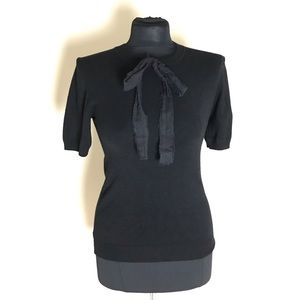 Zara Black Bow Sweater